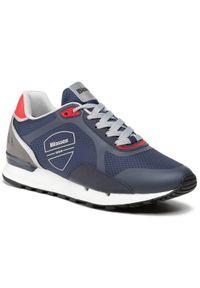 Blauer Sneakersy S1TYLER03/RIP Granatowy. Kolor: niebieski