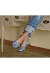 Baleriny Zapato na co dzień, wąskie, z okrągłym noskiem, casualowe
