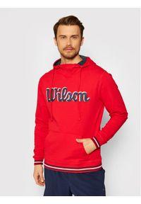 Czerwona bluza Wilson