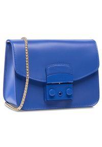 Niebieska torebka Furla