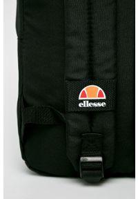 Czarny plecak Ellesse z nadrukiem