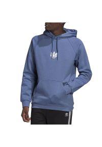 Adidas - adidas LOUNGEWEAR Adicolor 3D Trefoil Graphic Hoodie > GN3553. Okazja: na co dzień. Materiał: polar, poliester, bawełna. Wzór: aplikacja. Styl: klasyczny, casual