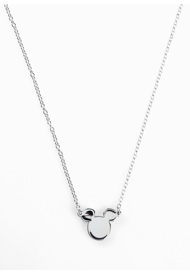 Łańcuszek Myszka Miki bonprix srebrny kolor