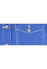 Niebieska kurtka TOP SECRET w kolorowe wzory, na co dzień, krótka, casualowa #6