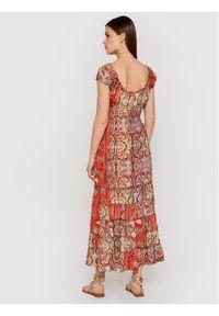 Iconique Sukienka letnia Shirley IC21 125 Kolorowy Regular Fit. Wzór: kolorowy. Sezon: lato
