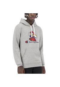 Champion x Super Mario Bros Anniversary Hoodie > 216868-EM006. Materiał: bawełna. Styl: klasyczny