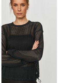 DKNY - Dkny - Bluza. Okazja: na co dzień. Kolor: czarny. Długość rękawa: długi rękaw. Długość: długie. Styl: casual