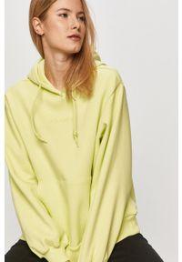adidas Originals - Bluza. Okazja: na co dzień. Kolor: żółty. Materiał: poliester. Styl: casual