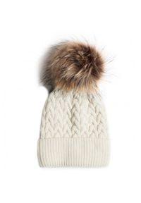 Biała czapka zimowa Gino Rossi