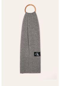 Szary szalik Calvin Klein Jeans