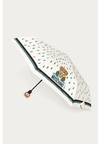 Kremowy parasol MOSCHINO