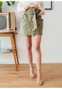 Brązowa spódnica Fanaberia.com na spacer, na lato