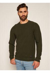 Zielony sweter klasyczny Lee