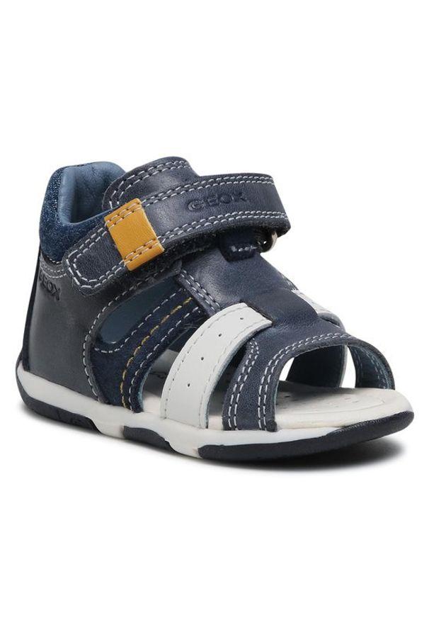 Geox Sandały B S.Tapuz B. A B150XA 0CL22 C4211 Granatowy. Kolor: niebieski