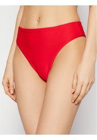 Seafolly Dół od bikini Essentials 40609-640 Czerwony. Kolor: czerwony