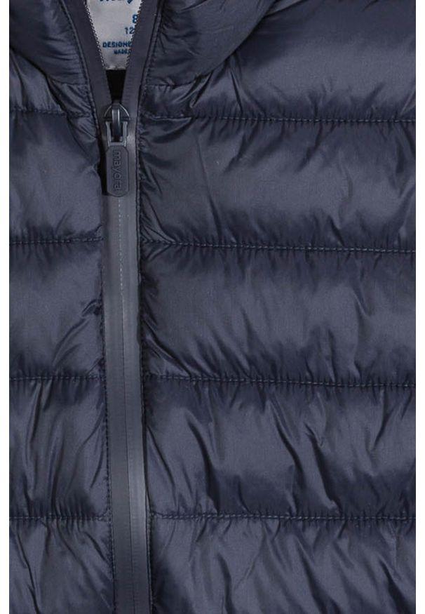 Niebieska kurtka Mayoral z kapturem, na co dzień, casualowa