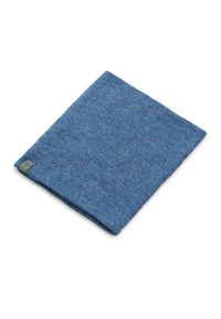 Komin bawełniany PaMaMi - Ciemnoniebieski. Okazja: na co dzień. Kolor: niebieski. Materiał: bawełna, elastan. Sezon: wiosna. Styl: casual, sportowy