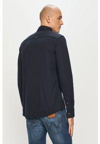 Niebieska koszula Calvin Klein na co dzień, długa, z klasycznym kołnierzykiem, klasyczna