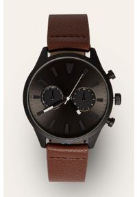 Brązowy zegarek medicine
