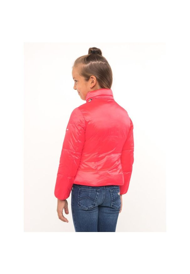Różowa kurtka puchowa Emporio Armani