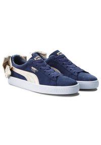 Niebieskie buty sportowe Puma Puma Suede