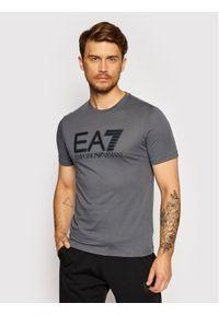 EA7 Emporio Armani T-Shirt 6KPT81 PJM9Z 1977 Szary Regular Fit. Kolor: szary