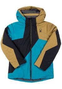 Kurtka sportowa Spyder w kolorowe wzory, narciarska