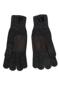 Szare rękawiczki Ugg