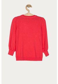 Różowy sweter GAP na co dzień, casualowy