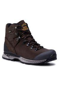 Brązowe buty trekkingowe MEINDL Gore-Tex, trekkingowe