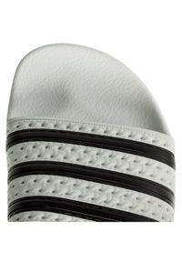 Adidas - adidas Klapki adilette 280648 Biały. Kolor: biały