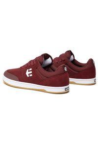 Etnies Sneakersy Marana 4101000403 Bordowy. Kolor: czerwony
