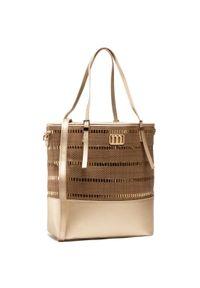 Brązowa torebka klasyczna Monnari skórzana