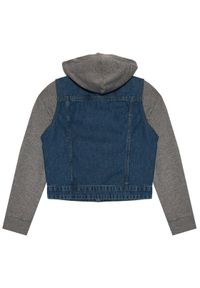 Name it - NAME IT Kurtka jeansowa 13193705 Granatowy Regular Fit. Kolor: niebieski. Materiał: jeans #4