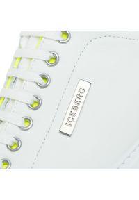 Białe sneakersy Iceberg