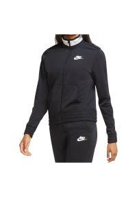 Bluza damska Nike Sportwear Heritage CU5928. Typ kołnierza: kołnierzyk stójkowy. Materiał: tkanina, poliester. Sezon: lato