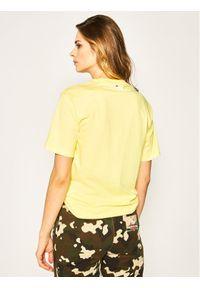 Żółty t-shirt Fila