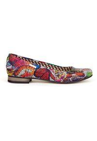 Baleriny Zapato klasyczne, bez zapięcia, w kolorowe wzory