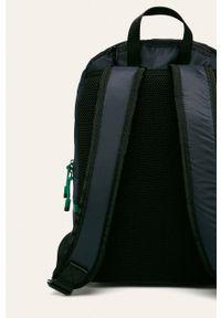 Niebieski plecak Calvin Klein z aplikacjami