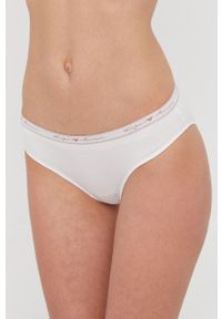 Emporio Armani Underwear - Emporio Armani - Figi (2-pack). Kolor: niebieski