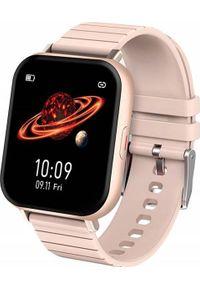 Smartwatch Bakeeley Z3 Różowy. Rodzaj zegarka: smartwatch. Kolor: różowy