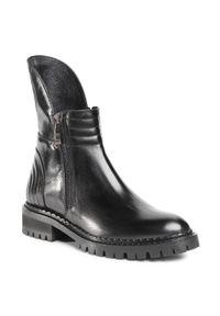 Czarne buty trekkingowe Rage Age z cholewką