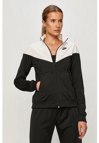 Nike Sportswear - Dres. Kolor: czarny. Materiał: dresówka