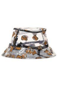 Brązowy kapelusz MOSCHINO