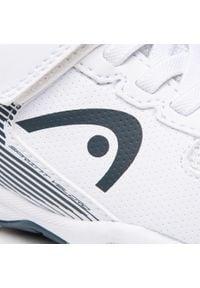 Head - Buty HEAD - Sprint Velcro 3.0 275410 White/Midnight Navy. Okazja: na spacer, na co dzień. Zapięcie: rzepy. Kolor: biały. Materiał: skóra, materiał. Szerokość cholewki: normalna. Styl: casual