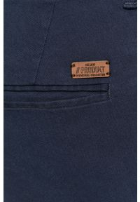PRODUKT by Jack & Jones - Produkt by Jack & Jones - Szorty. Okazja: na co dzień. Kolor: niebieski. Materiał: bawełna. Styl: casual