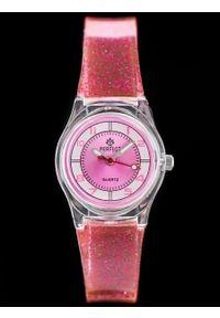 Różowy zegarek Perfect