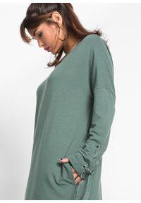 Zielona sukienka bonprix melanż