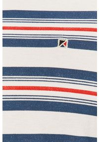 Niebieska koszulka polo PRODUKT by Jack & Jones krótka, na co dzień
