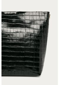 Czarna shopperka Furla duża, na ramię